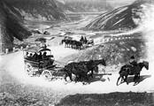 1897 09 01 Russie notre équipage sur la route du col de la Croix 2788 m (Krestovaïa-Gora [Darial])