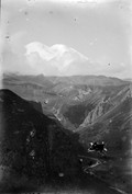 1897 08 23 Russie l'Elbrouz 5631 m et la vallée de la Malka