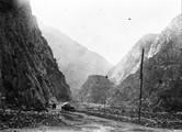 1897 09 01 Russie de Vladicavcaz à Tiffis. passe du Darial. Vallée du Terek, 1257 m