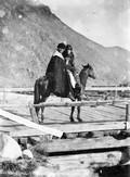 1897 08 24 Russie Couple en voyage près d'Outzkoulan