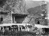 1897 09 01 Russie maison Ossete à Kobi (1982 m)
