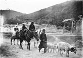 1897 09 02 Géorgie route d'Ananour géorgiens en voyage 823 m