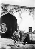 1897 09 06 Azerbaïdjan Bakou passage dans la muraille