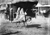 1897 09 14 Ouzbékistan SamarKand deux musulmanes sur un âne