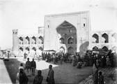 1897 09 14 Ouzbékistan SamarKand Médressé de Tillia Kari (1651) (faite en or)