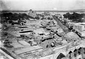 1897 09 16 Ouzbékistan SamarKand vue  du haut du portique  du Médressé de Chu Dar