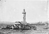 1898 07 03 Marseille l'adieu aux passagers du Salagie