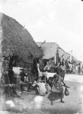 1898 07 13 Djibouti une rue - débit pour Somalis