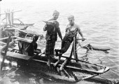 1898 07 20 Sri Lanka Colombo vendeurs en pirogue