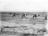 1897 09 19 Turkménistan Merv caravane de chameaux