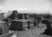 1897 10 02 Arménie  Alexandropol coucher de soleil sur l'Alagöz 4095m