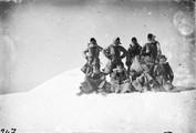 1897 10 12 Turquie au sommet est du grand Ararat mes 8 cosaques 5120 m