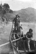 1897 10 18 Turquie mes bateliersr sur le Tchorok