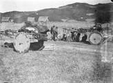 1897 10 18 Turquie  Vallée du Tchorok Campement de Lazes dans les maïs