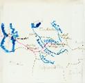 1897 carte du voyage de Bakou à Samarkand