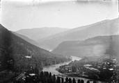1897 10 16 Géorgie arrivée à Borjom sur la rivière Koura