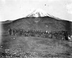 1897 10 13 Turquie Mont Ararat. Campement de cosaques (col de Sardar-Boulak 2350 m)