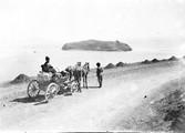1897 10 06 Arménie en téléga sur les bords du lac Gok-Tcha
