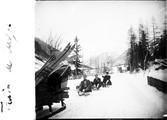 1908 01 Chamonix train de luges