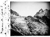 1908 01 Chamonix la Mer de Glace - aiguilles de Charmoz et de la République