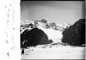 1908 01 Chamonix le Brévent de la piste de ski de Chamonix