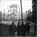 1918 Nancy après l'incendie des magasins Réunis
