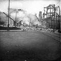 1918 Nancy l'incendie des magasins Réunis